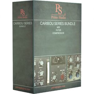 Prime Studio Caribou Series Compressor, Filter, Mix, Plug-In Bundle