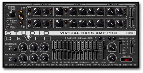 Virtual Bass Amp Pro