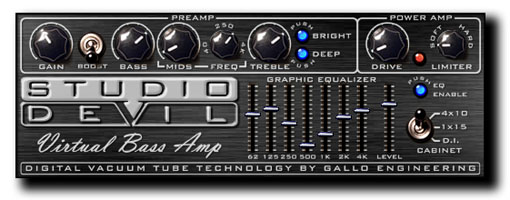 Virtual Bass Amp