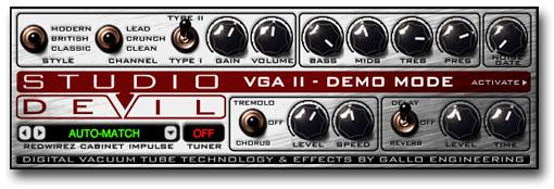 Virtual Guitar Amp II