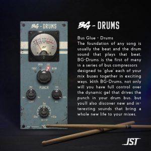 JST Bus Glue Drums